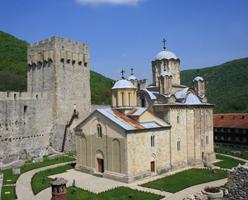 Monasteries Manasija and Ravanica