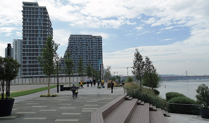 Belgrade waterfront part.