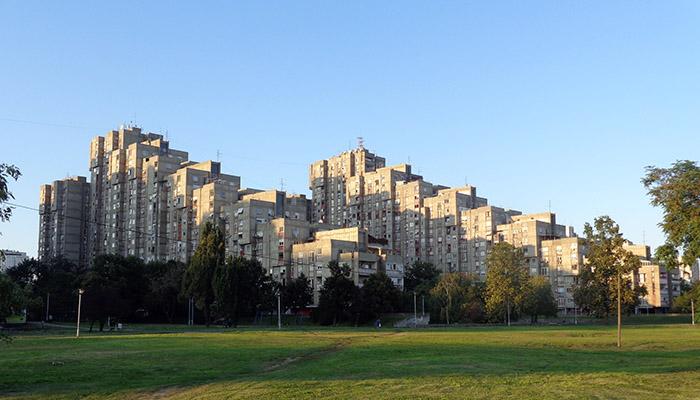 Blocks of New Belgrade