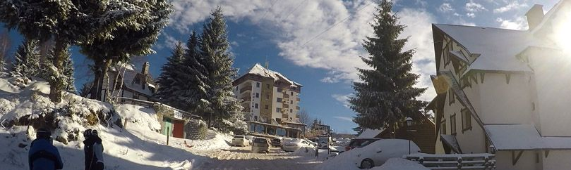 Accommodation in Vikend naselje at Kopaonik ski resort.