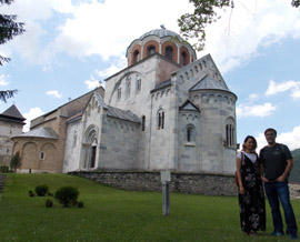 Monasteries Žiča and Studenica