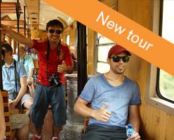 Thursday tour on a Sargan Eight train
