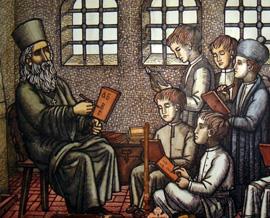 Тур к истокам сербской письменности