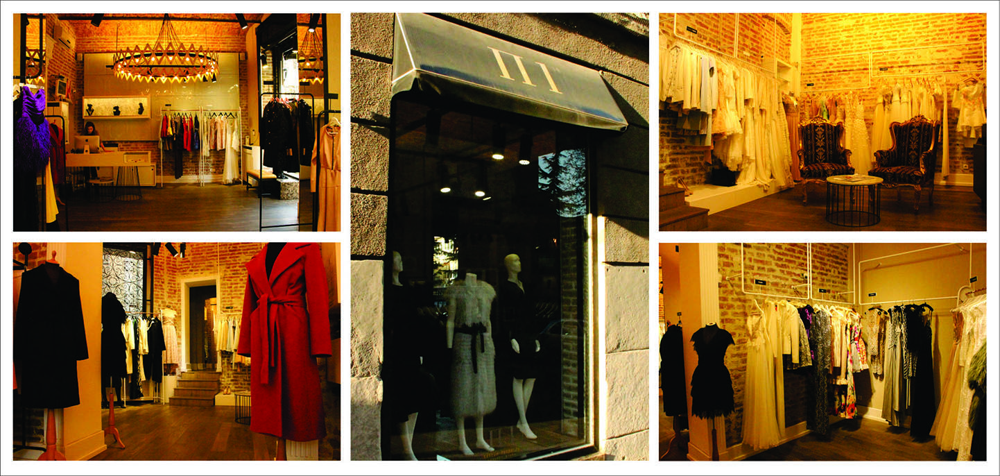 P1 concept store is place where you can find designed elegant clothes, Wedding and Ready To Wear Collection of Serbian designers. Last point on this shopping tour.