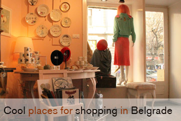 A perfect shopping tour on your own in Belgrade