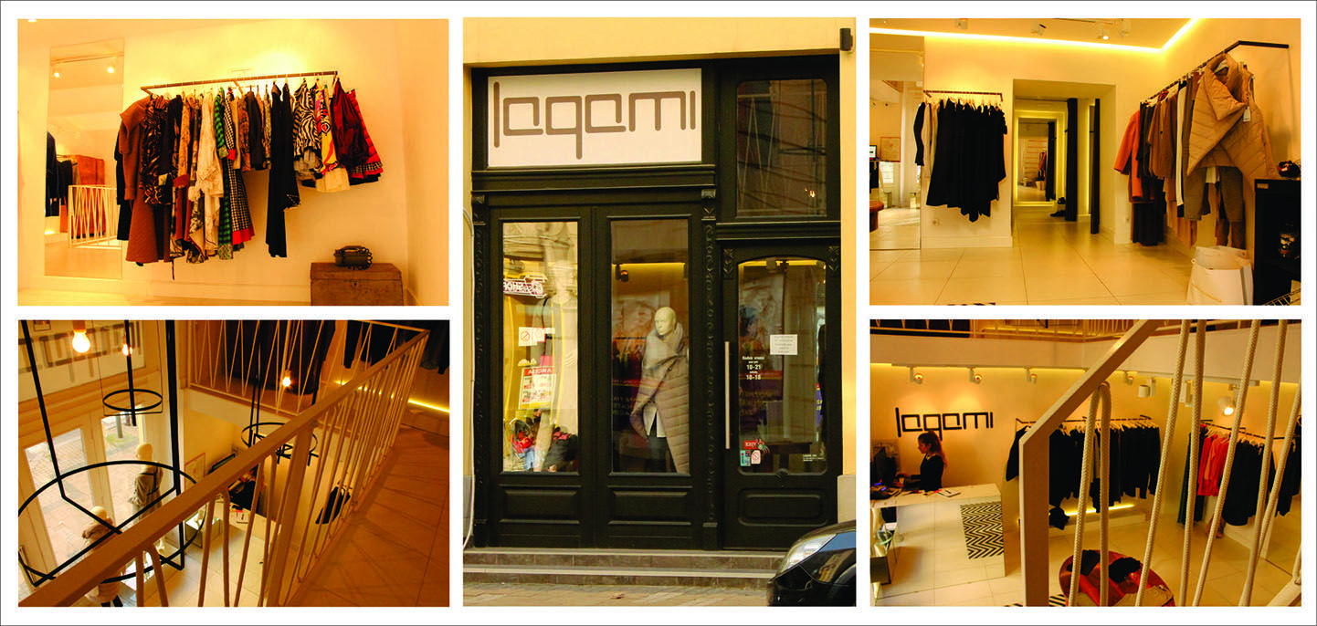 Lagami is a small urban store with excellent pieces of clothes for every day
