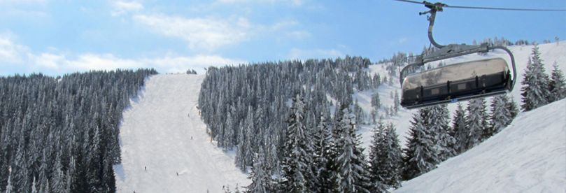 Ski slopes at Kopaonik ski resort