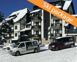 Kopaonik self catering ski package in JollyKop apartments