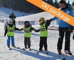 Kopaonik free ski lessons package - Hotel Rtanj