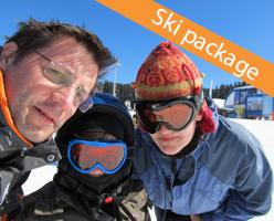 Kopaonik family friendly ski package in Apart Hotel Zoned 4*