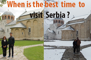 When is the best time to visit Serbia?