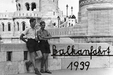 Balkan tour in 1939