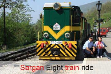 Sargan Eight train ride