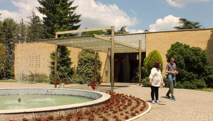 Belgrade museum house of flowers
