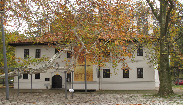 Belgrade museum the residence of Knez Milos in Topcider